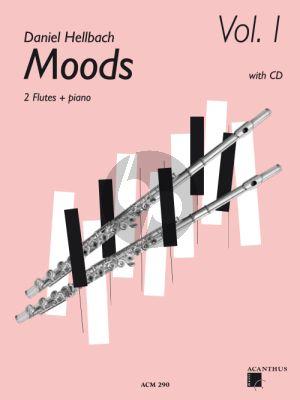Moods Vol.1 2 Flutes-Piano