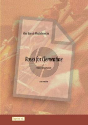 Meulebroecke Roses for Clementine Solo Instr. (Violin/Oboe/Sopr.Rec./Flute)-Piano)
