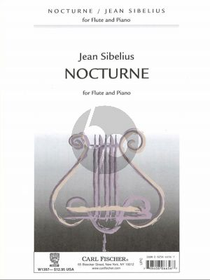 Sibelius Nocturne Flute-Piano (arr. John Amans)