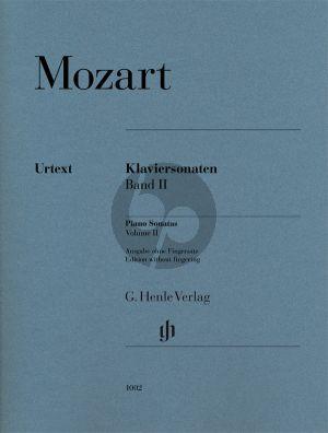 Mozart Sonaten Vol.2 Klavier (Wolf-Dieter Seiffert und Ernst Herttrich) (ohne Fingersatz))