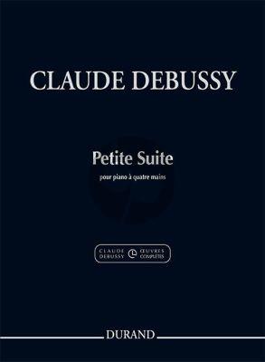 Debussy Petite suite Piano 4 Hds. (edited byEdmond Lemaître)