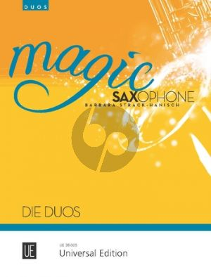 Strack-Hanisch Magic Saxophone – Duos for 2 Saxophones (Eb and Bb)