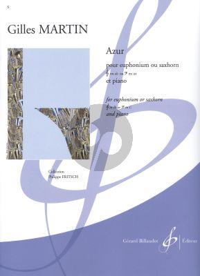 Martin Azur Euphonium[Saxhorn][TC/BC]-Piano