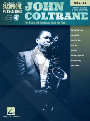 John Coltrane 8 Songs (Saxophone Play-Along Series Vol.10)