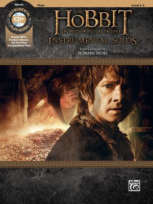 Shore The Hobbit - The Motion Picture Trilogy Instrumental Solos Flute (Bk & Cd)