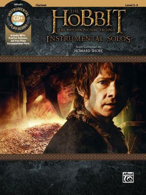 Shore The Hobbit - The Motion Picture Trilogy Instrumental Solos Clarinet (Bk & Cd)