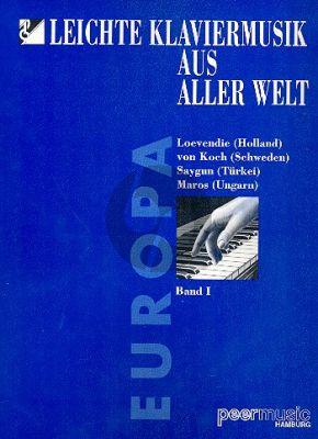 Leichte Klaviermusik aus aller Welt Vol.1 Europa
