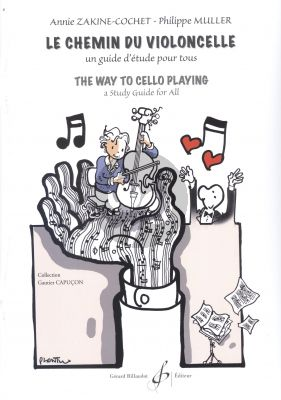 Zakine-Cochet-Muller The Way to Cello Playing (Le Chemin du Violoncelle)