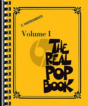 The Real Pop Book Vol.1 (all C Instr.)