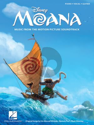 Miranda Moana (Music from the Motion Picture Soundtrack) Piano-Vocal-Guitar
