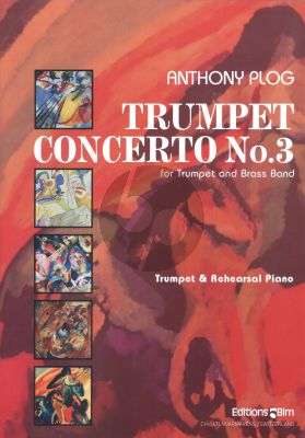 Plog Concerto No.3 Trumpet[C/Bb] and Brass Band (piano reduction)