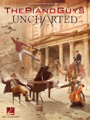 The Piano Guys – Uncharted Piano Solo with optional Violin Part