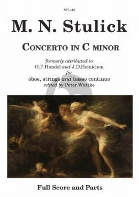 Stulick Concerto c-minor Oboe-Strings-Bc (Score/Parts)