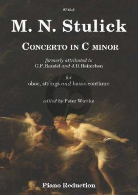 Stulick Concerto c-minor Oboe-Strings-Bc (piano red.)