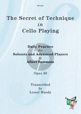 Sammons The Secret of Cello Technique