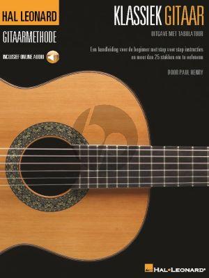 Henry Klassiek Gitaar (Hal-Leonard Gitaar Methode) (Boek met Audio online))