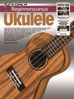Gelling Beginnerscursus Ukulele BK-CD-DVD