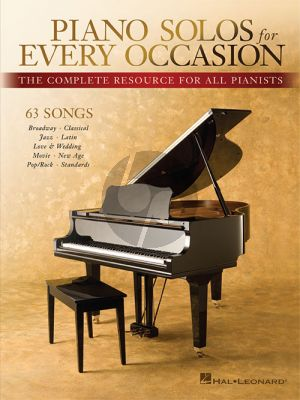 Piano Solos for Every Occasion (The Complete Resource for all Pianists)