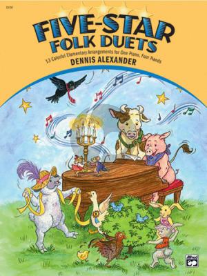 Alexander Five-Star Folk Duets (elementary level)