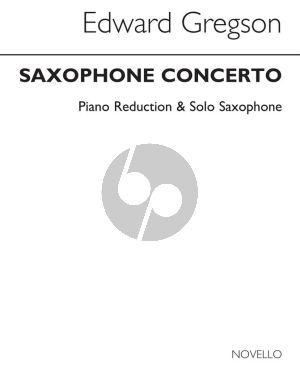 Gregson Concerto Alto Saxophone and Orchestra (piano reduction)