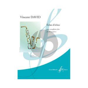 David Eclats d'Echo Alto Saxophone solo