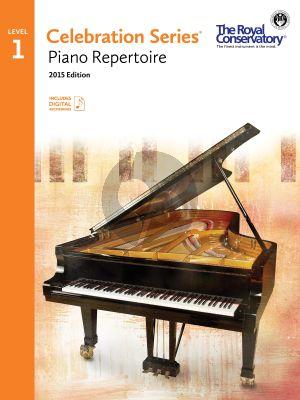 Celebration Series Piano Repertoire Vol.1 Book with Audio online