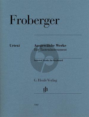 Froberger Ausgewählte Werke für Tasteninstrument (Peter Wollny)