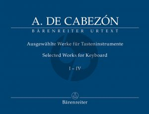Cabezon Selected Works for Keyboard Vol.1-4