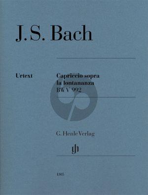 Bach Capriccio sopra la lontananza del fratro dilettisimo BWV 992 Klavier (mit Fingersatz) (ed. Georg von Dadelsen) (Henle-Urtext)