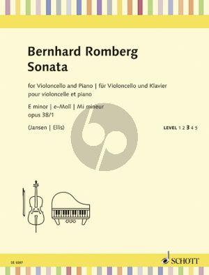Romberg Sonata e-minor Op.38 No.1 Violoncello-Piano