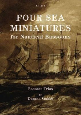 4 Sea Miniatures 3 Bassoons (Score/Parts) (arr. Duncan Stubbs)