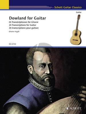 Dowland for Guitar (edited by Martin Hegel)