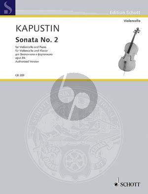 Kapustin Sonata No.2 Op.84 Violoncello-Piano