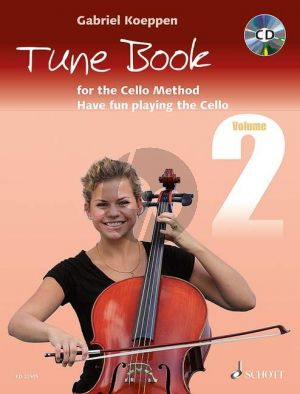 Koeppen Tune Book for the Cello Method Vol.2 (Have fun playing the Cello) 1-3 Violoncellos (piano ad lib.)