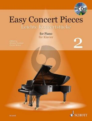 Easy Concert Pieces (48 Easy Pieces from 5 Centuries) Vol.2 Piano (Bk-Cd)