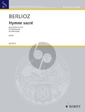 Berlioz Hymne sacré Trumpet-Clarinet-Bugle-Bügelhorn-Bass Clarinet and Baritone Saxophone (Score/Parts) (transcr. by Nicolas Prost)