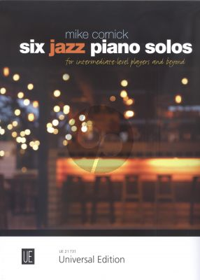 Cornick 6 Jazz Piano Solos for Piano