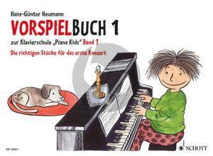 """Heumann Vorspielbuch 1 zur Klavierschule """"Piano Kids"""" Band 1 Die richtigen Stücke für das erste Konzert"""