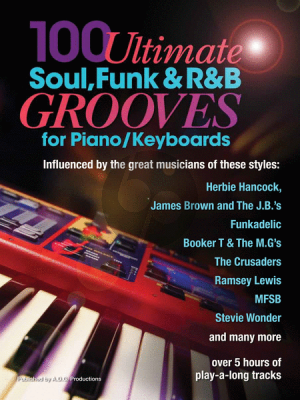 Gordon 100 Ultimate Soul-Funk and R&B Grooves for Piano/Keyboards (Book/downloadable MP3 files)
