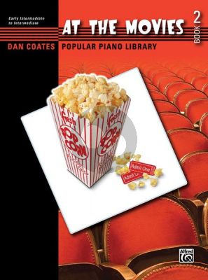 At the Movies Vol.2 (Dan Coates Popular Piano Library)