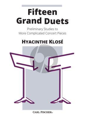 Klose 15 Grand Duets 2 Clarinets
