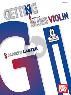 Laster Getting into Blues Violin (Book with Audio online)