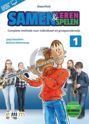 Kastelein-Oldenkamp Samen Leren Samenspelen Dwarsfluit (Boek met Audio online)
