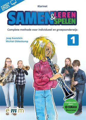 Kastelein-Oldenkamp Samen Leren & Samenspelen Klarinet (Boek met Audio online)