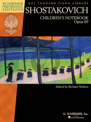 Shostakovich Children's Notebook Op.69 Piano solo (edited by Richard Walters)
