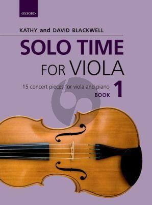 Solo Time for Viola Book 1 Viola-Piano