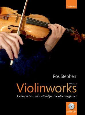 Stephen Violinworks Book 2 (A comprehensive method for the older beginner) (Bk-Cd)