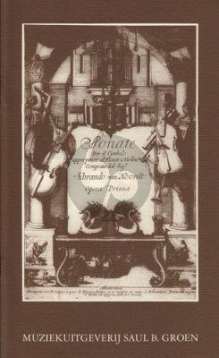 Noordt 4 Sonatas Op.1 Solo Instrument-Bc (facs.) (Rein Verhagen)