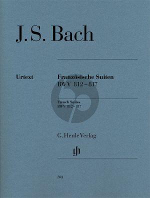 Bach Franzosische Suiten (BWV 812-817) Klavier (Henle)