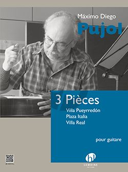 Pujol 3 Pieces for Guitar